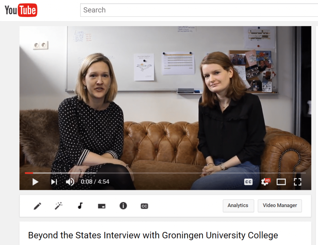 University College Groningen A Deep Dive Beyond The States